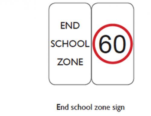 School Bus Safety – School Zones